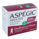 Aspégic 1000 mg 30 Sachets