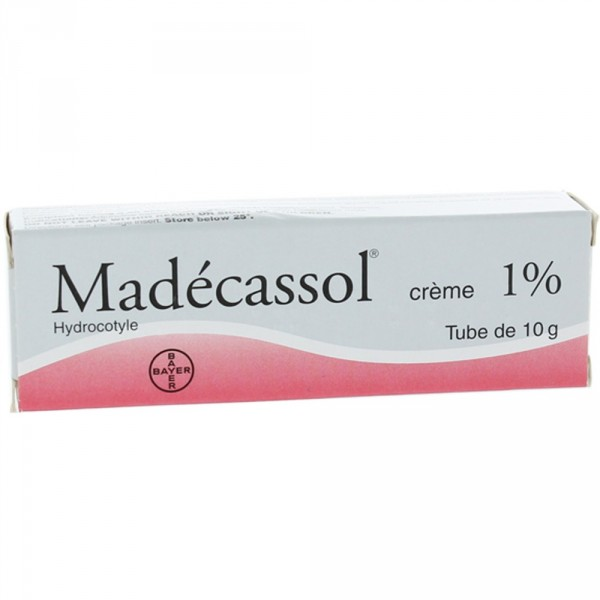 madecassol creme pour cicatrice