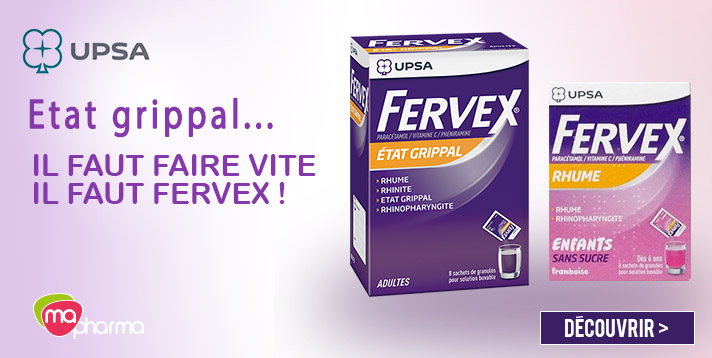 Fervex adultes enfants